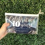 Celebrate. Limited Edition 10th Birthday Bag.