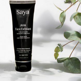 Saya Organic Skincare AHA Face Exfoliant