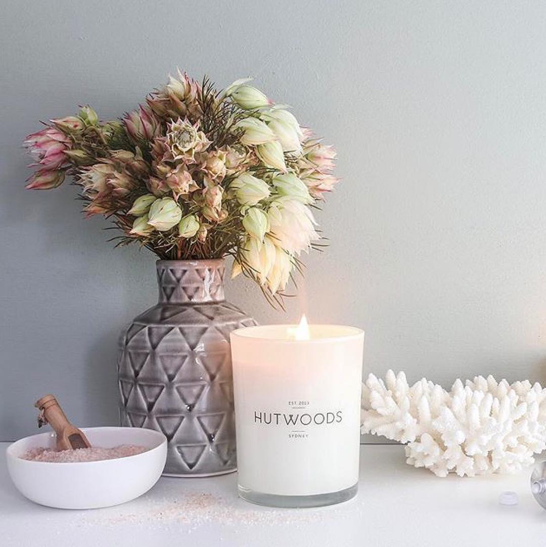 Hutwoods Luxury Wood Wick Candles