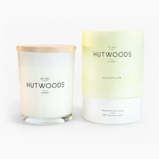 Hutwoods Coconut & Lime Candle
