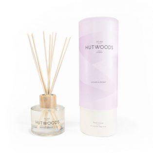 Hutwoods Lychee and Peony Reed Diffuser