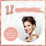 Happy Birthday to us! Beauty on Latrobe turns 11.